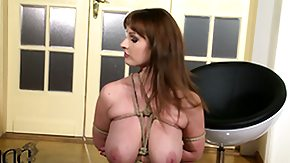 Bound, Babe, BBW, Big Tits, Bondage, Boobs
