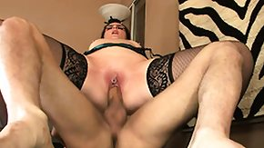 Garter, Blowjob, Brunette, Garter Belt, Hardcore, Leggings