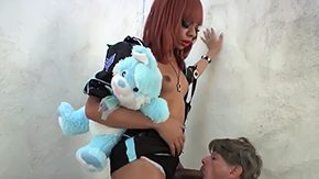 Office Job, Black Shemale, Futanari, Hermaphrodite, Ladyboy, Shemale
