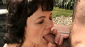 Hairy Mature, Blowjob, Doggystyle, Experienced, Fur, Grandma