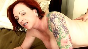 Hairy Redhead High Definition sex Movies Trimmed pussy of tattooed milf gets constantly filled by the massive beaver-cleaver