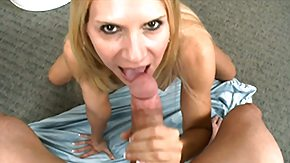Cutie, Blonde, Blowjob, Mature, MILF, Sucking