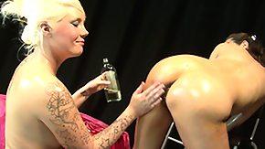 Oiled Fist, Blonde, British, British Fetish, British Lesbian, Brunette
