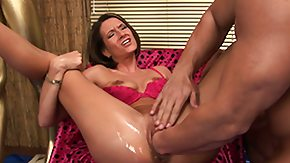 Oiled Fist, Anal, Anal Fisting, Assfucking, Brunette, Fetish