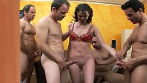 Andrea Anderson HD porn tube Sweet half-grown Andrea serving 4 dicks brunette hair skinny bantam boobs shaggy sex group fmmm facefucking face sitting