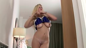 Mature Blonde, Amateur, Ass, Bedroom, Big Ass, Big Natural Tits