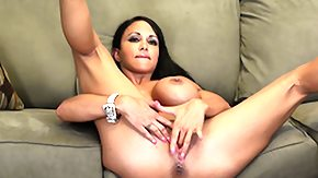 Jewels Jade, Big Tits, Boobs, Brunette, Fingering, Masturbation