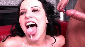 Katie St. Ives, Blowjob, Brunette, Cumshot, Hardcore, Jizz