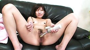 Beauty, Asian, Brunette, Lady, Masturbation, Sex