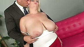 Big Natural Tits, BBW, Big Tits, Blonde, Blowjob, Boobs