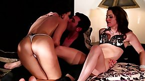 Tears, 3some, Babe, Blowjob, Brunette, Group