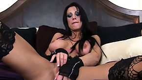 Mature Fetish, Big Tits, Boobs, Brunette, Fingering, Goth