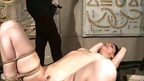 Hogtied, Babe, BDSM, Big Tits, Boobs, Bound