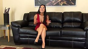 Asa Akira, Asian, Dress, Masturbation, Oriental, Red