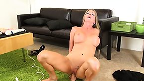 Dildo Riding, Big Tits, Blonde, Boobs, Dildo, Granny Big Tits