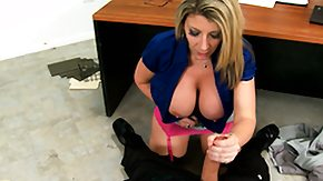 Sara Jay, Big Tits, Blonde, Blowjob, Boobs, Desk