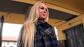 Free Train HD porn Gorgeous blond with a slinky smile gets picked up at the train station