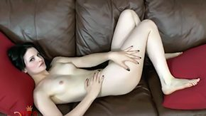 Free Miss Kitten HD porn videos Vampiric Miss Kitten stretches on couch masturbates for the reason that mostly stationary camera Pale skinned enchanted babe Miss Kitten works out her pussy on stationary camera