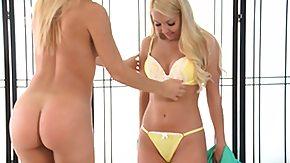 Cherie Deville, Babe, Bikini, Blonde, Lesbian, Monster