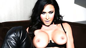 Latex, Big Tits, Black Big Tits, Boobs, Brunette, Hardcore