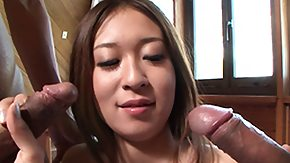 Risa, 3some, Asian, Asian Orgy, Asian Swingers, Blowjob