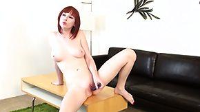 Zoey Nixon, Dildo, Masturbation, Redhead, Solo, Toys