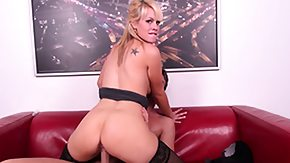 Tara, Blonde, Blowjob, Cowgirl, Hardcore, Leggings