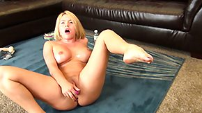 Lynn, Big Tits, Blonde, Boobs, Masturbation, Oil