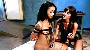 Lesbian Bondage, Ass, BDSM, Big Nipples, Big Pussy, Bondage