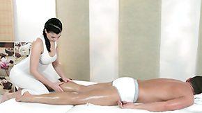Lesbians Massage, Brunette, High Definition, Horny, Lesbian, Massage