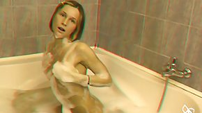 Bathing, 3D, Bath, Bathing, Bathroom, BBW