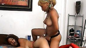Strap On, Babe, Black, Black Lesbian, Blonde, Ebony