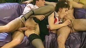 Dick ride, 3some, Anal, Assfucking, Babe, Bend Over