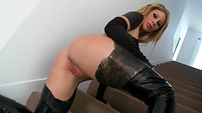 Black In Latex, 10 Inch, Ass, Ass Licking, Assfucking, Ball Kicking